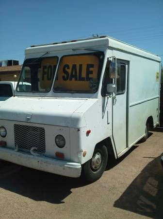 1987 Chevy 1 Ton Step Van Vintage Stepvans Pinterest
