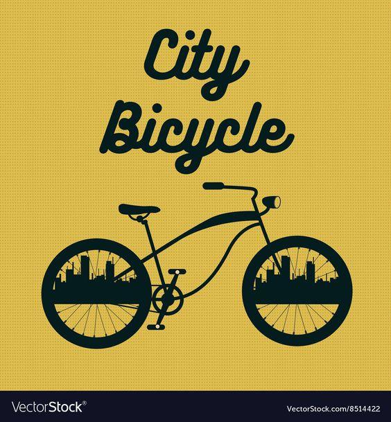City Bicycle Vintage Bike Background Royalty Free Vector Ad Vintage Bike City Bicycle Ad City Bicycles Vintage Bike Bike