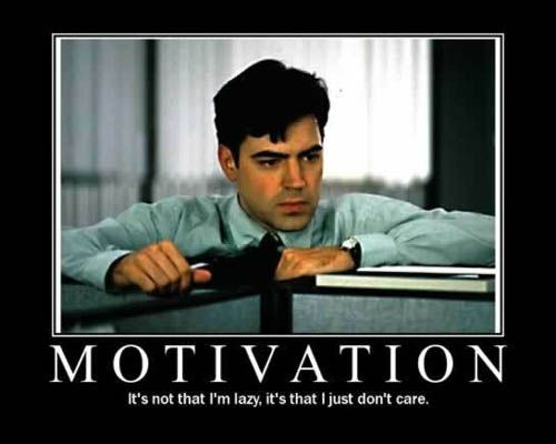 I'm never motivated to do my homework
