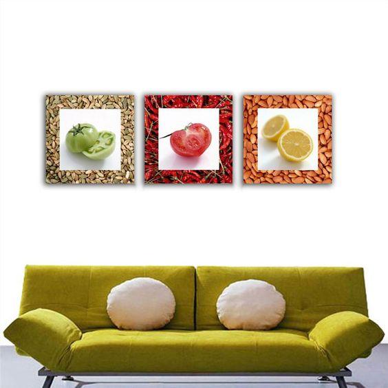 Quadro moderno e componibile per cucina n08 Quadri Pinterest - fototapeten f r k che