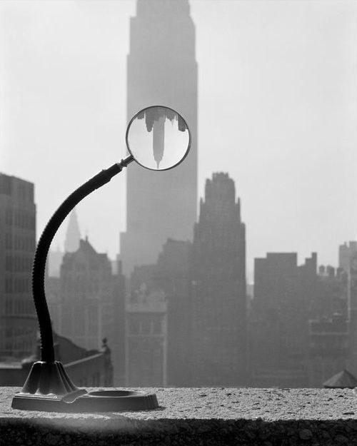 "Erich Hartmann ""Empire State Building"", New York City, 1949"