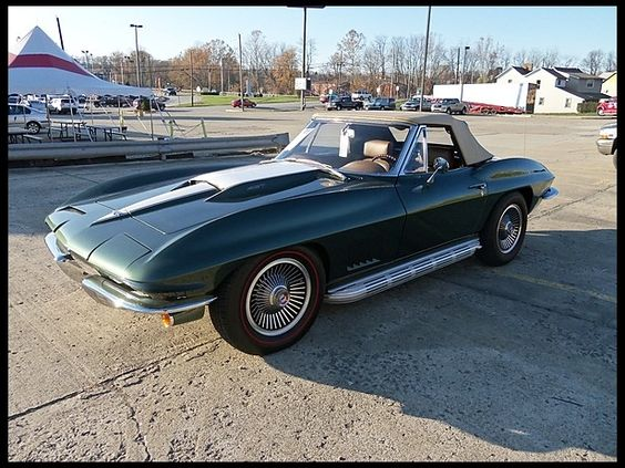 1967 Chevrolet Corvette Convertible  Maintenance/restoration of old/vintage vehicles: the material for new cogs/casters/gears/pads could be cast polyamide which I (Cast polyamide) can produce. My contact: tatjana.alic@windowslive.com