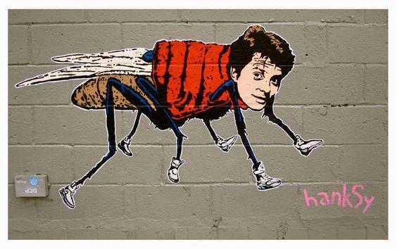 Hanksy, McFly (2012), via Artsy.net