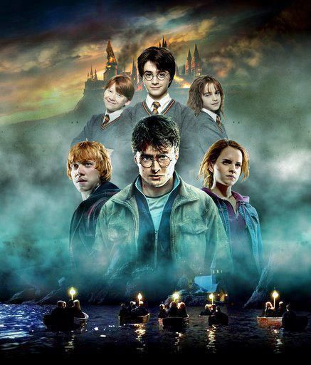 Harry Potter, The Golden Trio