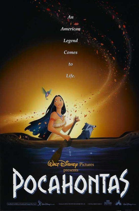 Pocahontas 27x40 Movie Poster (1995)