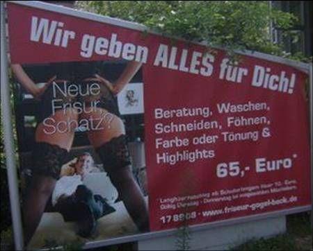 Lustige Werbung ;-)