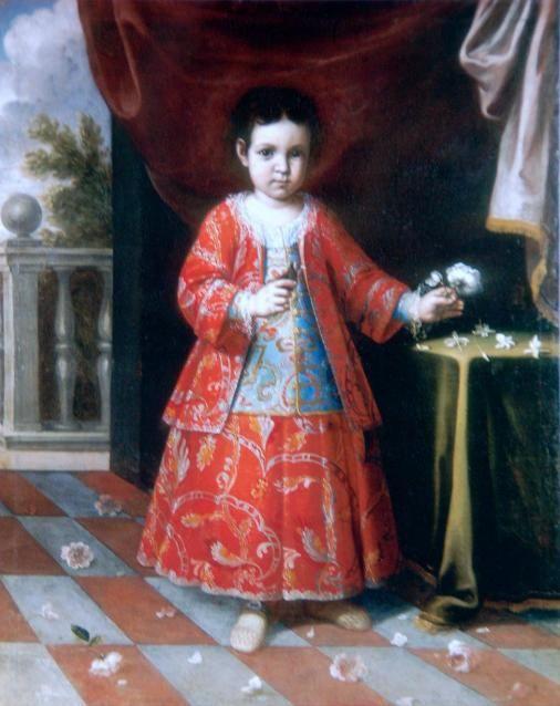 ALONSO MIGUEL DE TOVAR  RETRATO DE UNA NIÑA 1732: