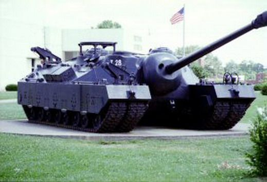 t28 super heavy tank known also as a t95 gun motor