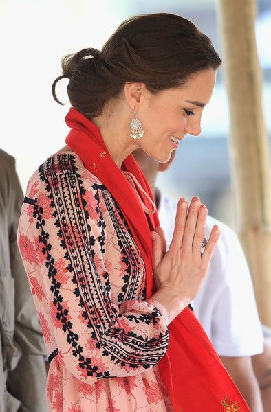 Kate Middleton Photos - The Duke and Duchess of Cambridge Visit India and Bhutan - Day 4 - Zimbio: