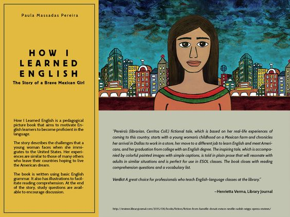 library journal book review of  u0026quot how i learned english the story of a brave mexican girl u0026quot  written