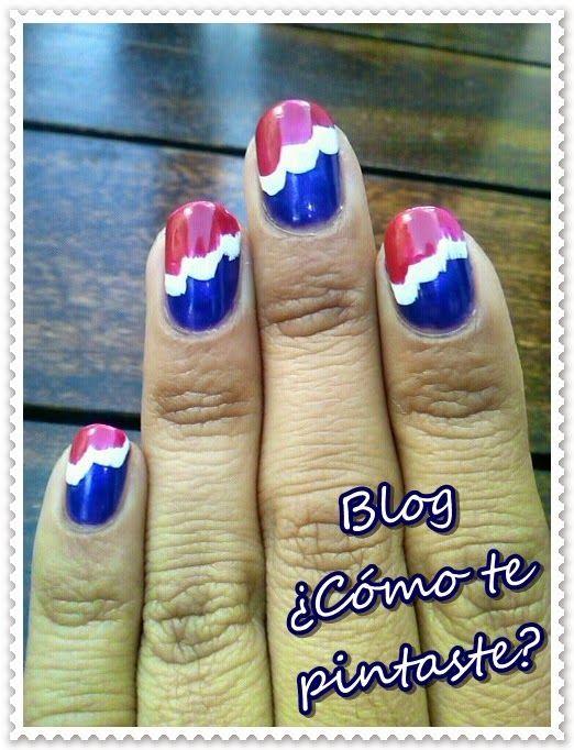 Europe (33 Day Challenge) #nails #uñas #comotepintaste #esmaltes #polish #nube #stamping #33dc