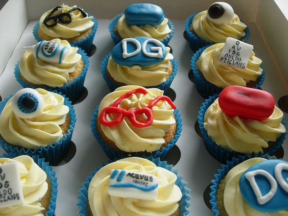 Optician Cupcakes by Melinda's Fantasy Cupcakes, via Flickr