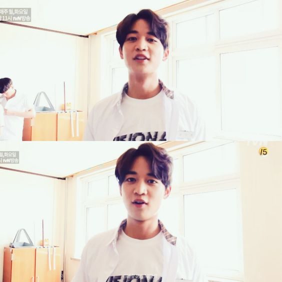 160921 #Minho - tvN 'Drinking Solo' Making Film #Shinee