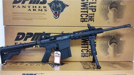 AR 10 DPMS Rifle 7.62 x 51 .308 Win Quad Rail : Semi Auto Rifles at GunBroker.com