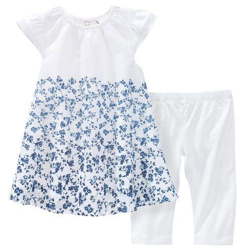 Newborn-Kleid und Leggings von Topomini für Mädchen bei Ernstings family günstig shoppen