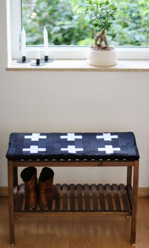 20 Ways To Use Ikea Molger Bench Around The House Comfydwelling Com Ikea Molger Bench House Bench Cushions Decorating Your Home Home Decor