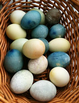 Easter Egg Dying with Natural Ingredients | Random Recycling: Green Living for Modern Families