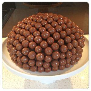 Voila - Malteser cake!