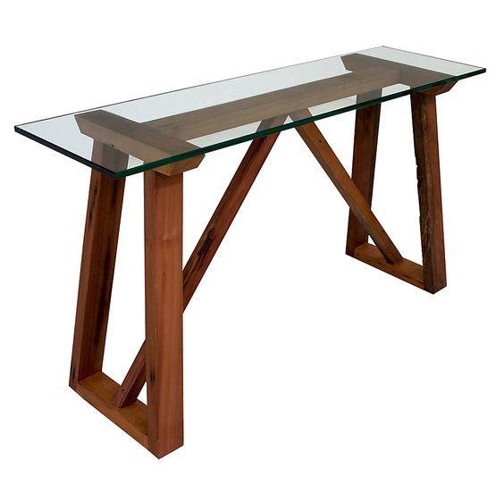 Basement home mesa de arrimo caballete roble - Caballetes para mesas ...
