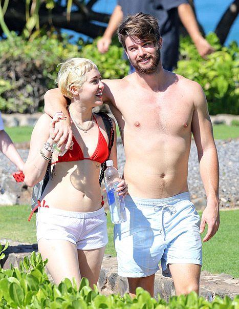 Miley Cyrus, Patrick Schwarzenegger Rock Beach Bodies in Hawaii: Pics - Us Weekly