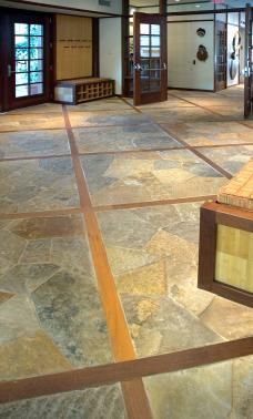 Stone flooring for the home pinterest transition Stone flooring types