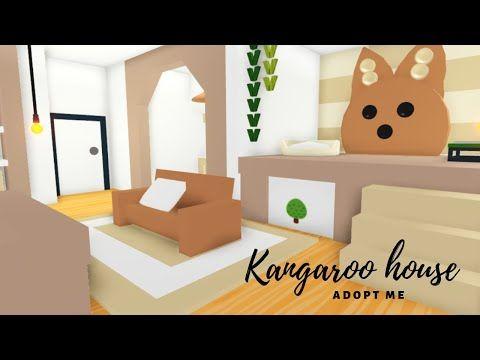 Kangaroo House Tiny Home Adopt Me Speed Build Youtube Adoption Cute Room Ideas Animal Room