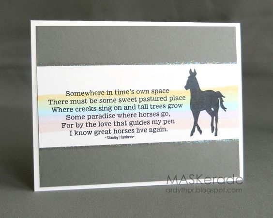 MASKerade: Words for Horse Lovers