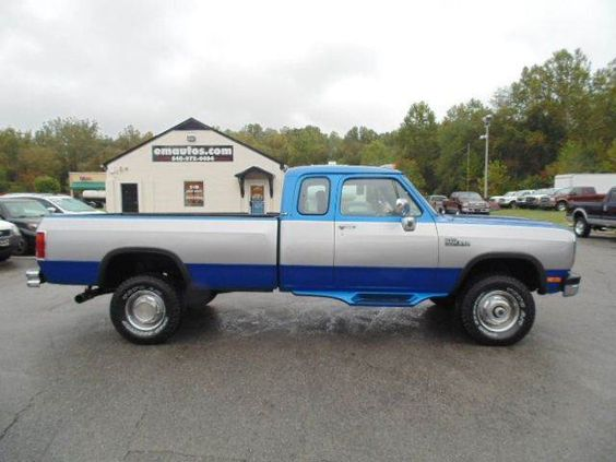 www emautos com one owner 1993 dodge ram 250 le extended cab 4x4 long bed cummins diesel truck. Black Bedroom Furniture Sets. Home Design Ideas