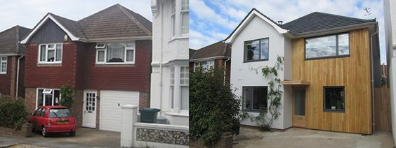 Before And After House Exteriors Uk Google Search Exterior Reno Ideas Pinterest Budget