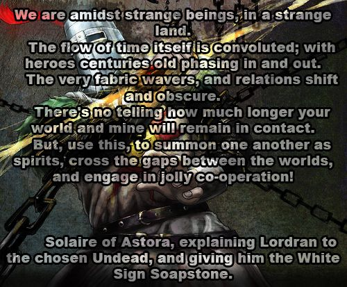 Quotes About Dark Souls: Solaire Of Astora - Dark Souls