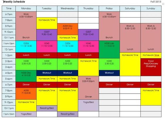 All Work and No Play: How To Create a Balanced Schedule ...