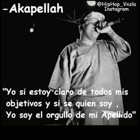 Akapellah Rap Frases De Canciones Y Frases