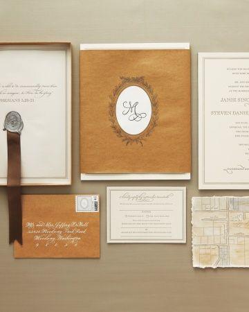 This couple's bespoke monogram was based on the packaging of legendary Parisian patisserie Laduree