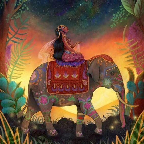 'The Awestruck Princess'  by Lisa Falzon