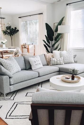 11 Minimalist Scandinavian Sofas in Gray, Beige, & Blue