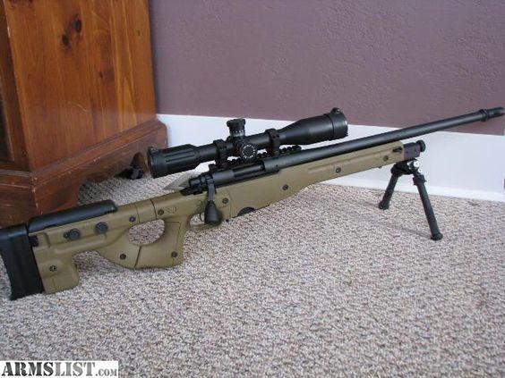Remington 700 aics with atlas bipod