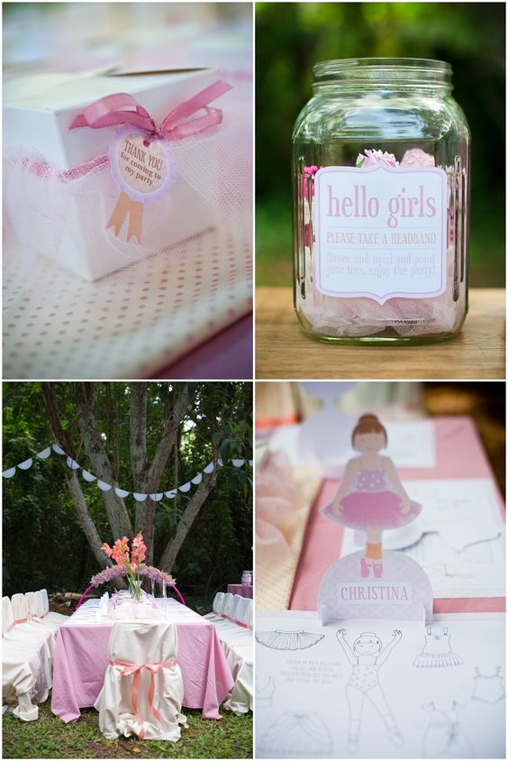 Kara's Party Ideas - TONS of party ideas with fantastic photos. This pic is from the ballerina parties gallery. Haddi birthday idea...