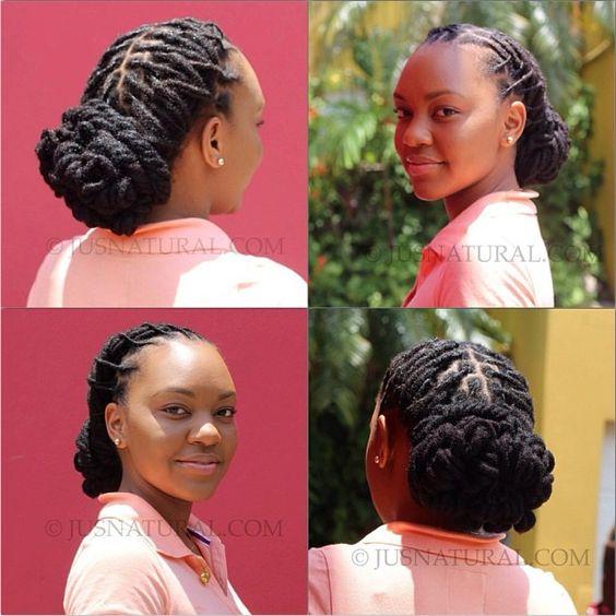 Loc style by Just Natural hair studio #naturalhair #locs #loclove #locology #locstyle #ilovemylocs #loveyourmane #ilovemyhair #locsies #locnation #locdup #locqueen #islandlocs #islandnaturals #Padgram