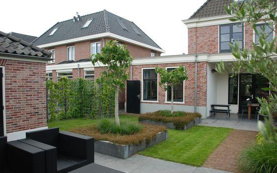 Moderne klassieke tuin in wognum van veen tuinontwerpen tuinontwerp hovenier tuinaanleg tuin - Moderne woning buiten lay outs ...