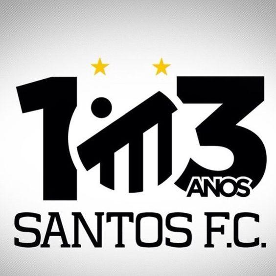 """""""Parabéns SANTOS FC ... É uma honra fazer parte da história desse clube !! Parabéns aos santistas, 103 anos de história  #santosfc103anos…"""""""