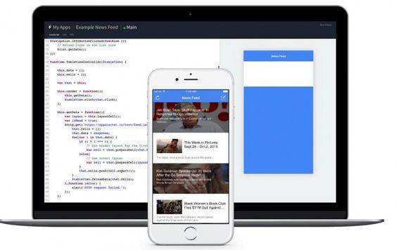 Ver AppStarter, para crear y ejecutar prototipos de aplicaciones para iOS