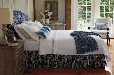 $24.95 for over 1 yard!  Imperial Paisley Ultramarine Navy Blue Heavy Upholstery Fabric Company C   eBay seller 5waite