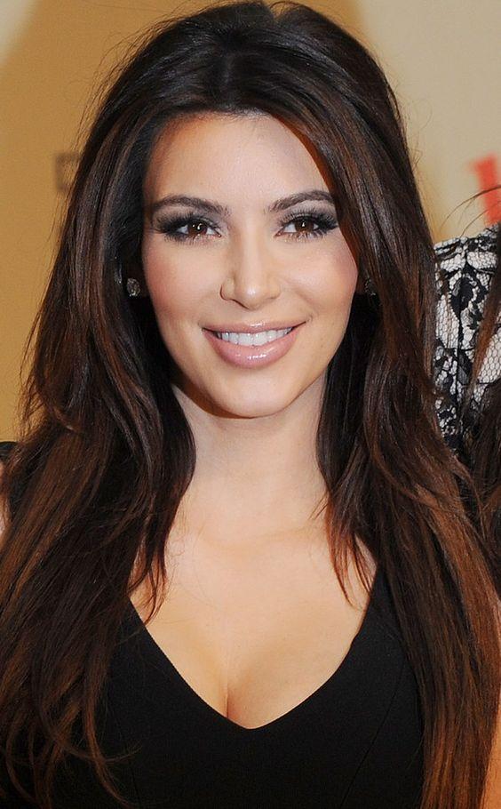 how to get kim kardashian sleek straight hair