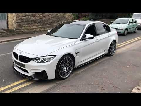 85 2017 Bmw M3 Competition Pack Mineral White Pearl Carbon