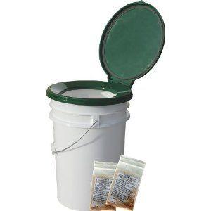 Five Gallon Bucket Toilet Live Simply Pinterest