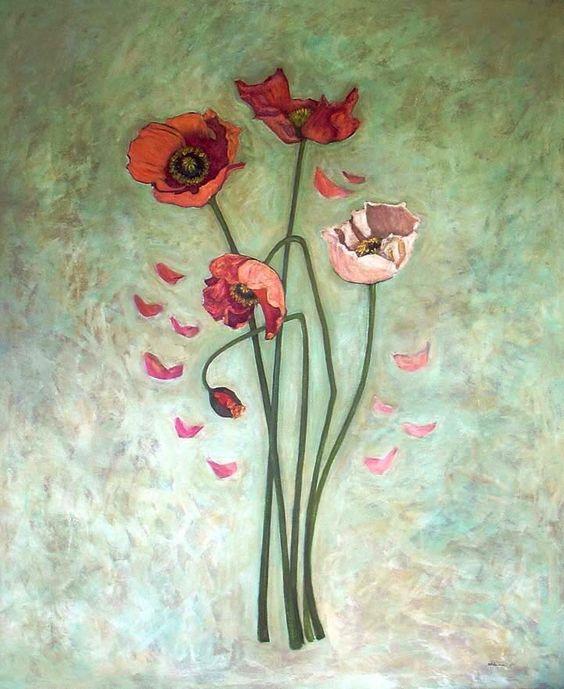 Quadro pintado pela artista Célia Estrela