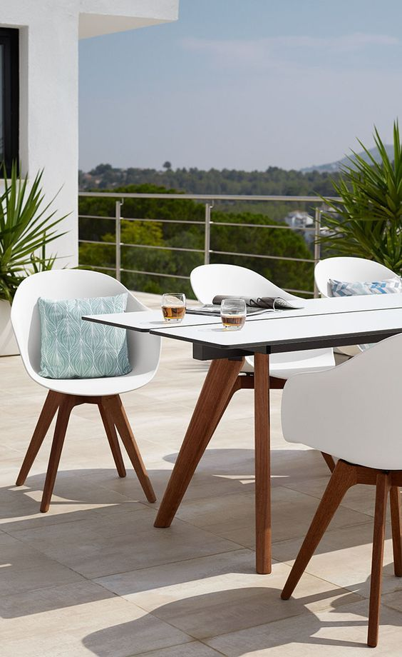Dining In The Sun Contemporary Outdoor Furniture Outdoor Dining