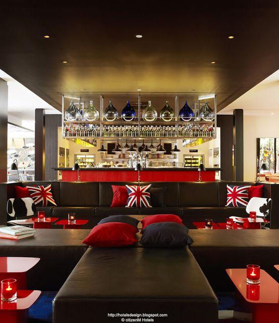 citizenM London Bankside_Les plus beaux HOTELS DESIGN du monde