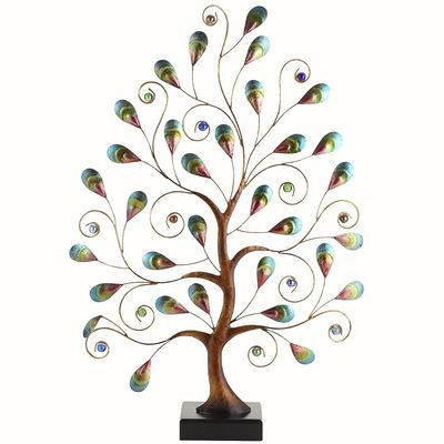 Pier 1 Handcrafted Peacock Tree