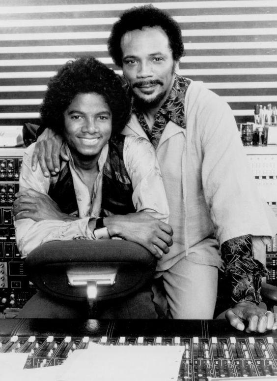 .Michael and Quincy Jones